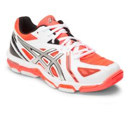 Squash Shoes - Asics Gel Volley Elite 3 Women White Coral
