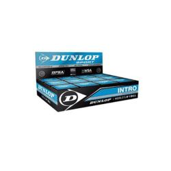 Squash Balls - Dunlop Intro Squash Balls Box of 12