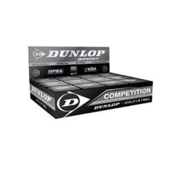 Squash Balls - Dunlop Competition Squash Balls Box of 12