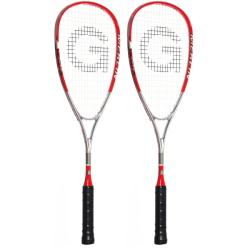 Squash Racquets - Grays Merlin Red Racquet Two Pack