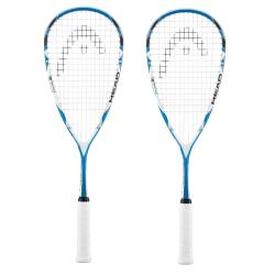 Squash Racquets - Head Microgel 125 Squash Racquet Two Pack