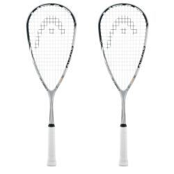 Squash Racquets - Head 115 YouTek Karim Darwish Squash Racquet Two Pack
