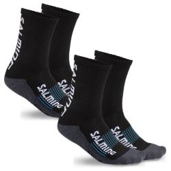 Clothing - Salming Advanced Indoor Sock Black 2 Pack