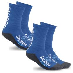 Clothing - Salming Advanced Indoor Socks Blue 2 Pack