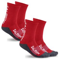 Clothing - Salming Advanced Indoor Socks Red 2 Pack