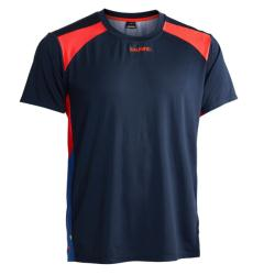 Massive Clothing Clearance - Salming Challenge Tee Navy Magenta