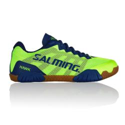 Squash Shoes - Salming Hawk Mens Squash Shoes Green