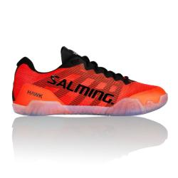 Squash Shoes - Salming Hawk Mens Squash Shoes Orange