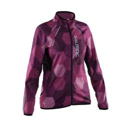 Clothing - Salming Ultralight Jacket 2.0 Pink Black