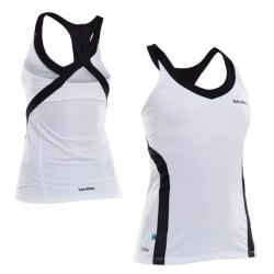 Massive Clothing Clearance - Salming Strike Tank White/Black