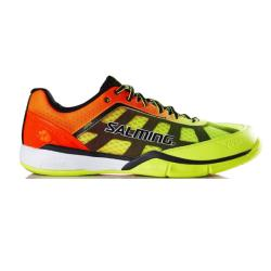 Squash Shoes - Salming Viper 4.0 Yellow Orange Mens Squash Shoes