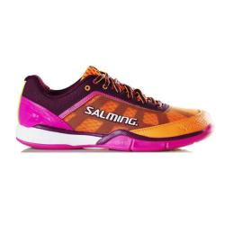 Squash Shoes - Salming Viper 4.0 Purple Orange Womens Shoes