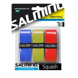 Squash Accessories - Salming Super Tacky+ Overgrip 3 pack
