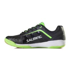 Squash Shoes - Salming Adder Black Green Mens Squash Shoes