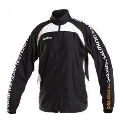 Clothing - Salming Detroit Jacket Black White Men