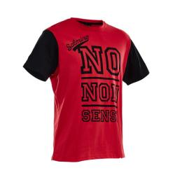 Clothing - Salming Graphic Tee Red Black