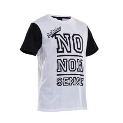 Clothing - Salming Graphic Tee White Black