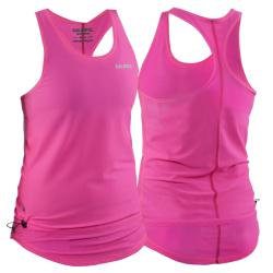 Massive Clothing Clearance - Salming Run Racerback Top Womens Diva Pink