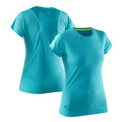 Clothing - Salming Run Tee Turquoise