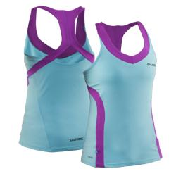 Massive Clothing Clearance - Salming Strike Tank Turquoise/Purple