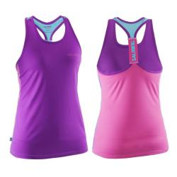 Clothing - Salming T-Back Singlet Top Womens Pink Purple