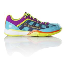 Squash Shoes - Salming Viper 3 Turquoise Cactus Womens Squash Shoes