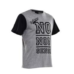 Clothing - Salming Graphic Tee Grey Black