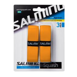 Squash Accessories - Salming X3M H20 Drain Grip 2 Pack Orange