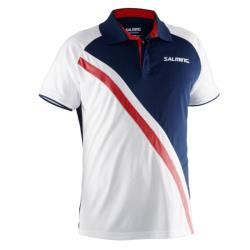 Clothing - Salming Performance Polo Men White Navy