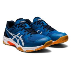 Squash Shoes - Asics Gel Rocket 10 Men Reborn Blue/White