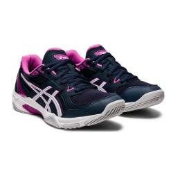 Squash Shoes - Asics Gel Rocket 10 Women French Blue/White