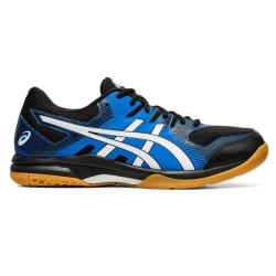 Squash Shoes - Asics Gel Rocket 9 Men Black Blue  2020 NEW