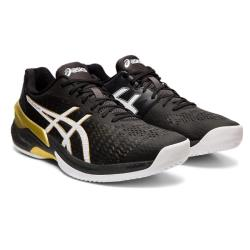 Squash Shoes - Asics Sky Elite FF Men Black White 2019 NEW