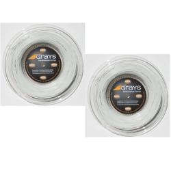 Squash String - Grays Graytec Squash String (200m reel) Two Pack