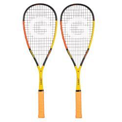 Squash Racquets - Grays Illusion 110 Squash RacquetYellow Orange 2 Pack