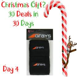 30 Deals in 30 Days, Squash Accessories - Grays Wristband Black