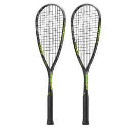 Squash Racquets - Head Extreme 145 Squash Racquet Two Pack LAUNCH