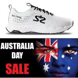 Salming Running - Australia Day Greyhound Men Running Shoes White