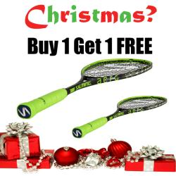 Christmas Specials, Squash Racquets - Christmas Salming Fusione Powerlite Buy 1 Get 1 FREE