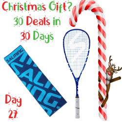 30 Deals in 30 Days, Squash Racquets - Salming Aero Forza Blue Racquet