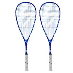 Squash Racquets, Two Packs You Save STACKS! - Salming Aero Forza Blue Racquet Two Pack