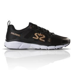 Salming Running - Salming Enroute 2 Womens Running Shoes Black Gold