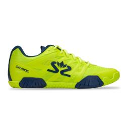 Squash Shoes - Salming Hawk 2 Shoe Men Lime Punch Blue Launch