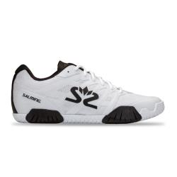 Squash Shoes - Salming Hawk 2 Shoe Men White Black Launch