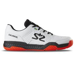 Squash Shoes - Salming Hawk Court Shoe Men White/Black Launch