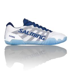 Squash Shoes - Salming Hawk Womens Squash Shoes White Navy