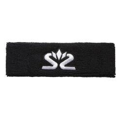 Squash Accessories - Salming Knitted Headband Black/White