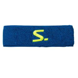Squash Accessories - Salming Knitted Headband Blue/Yellow