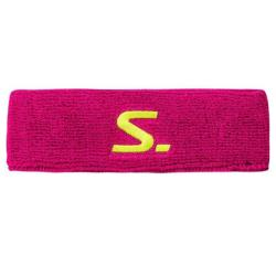 Squash Accessories - Salming Knitted Headband Pink Yellow