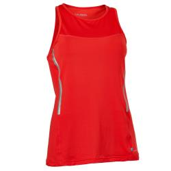Clothing - Salming Laser Tank Women Poppy Red